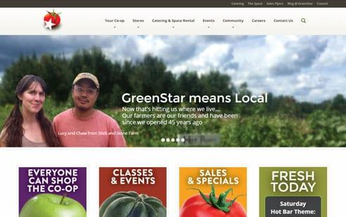 GreenStar Website Example 1