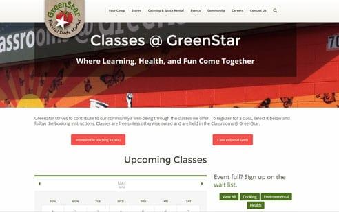 GreenStar Website Example 4