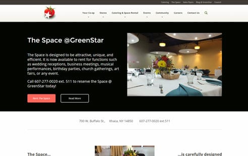 GreenStar Website Example 5