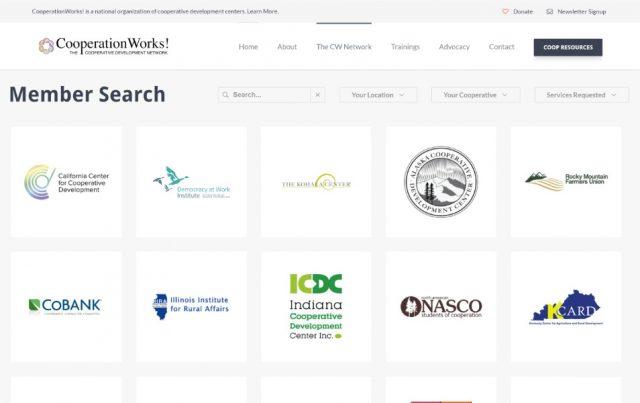 CooperationWorks! Website Design
