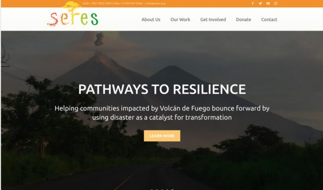 SERES WordPress Website